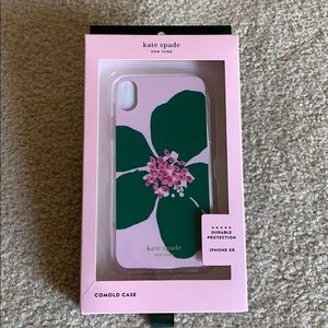 Kate Spade jeweled flora iPhone XR case